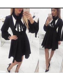 Šaty - kód 414 - 1 - čierná