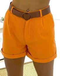 Krátke kraťasy - kód 2236 - 6 - oranžová