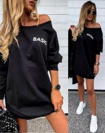 Šaty - kód 0164 - čierná
