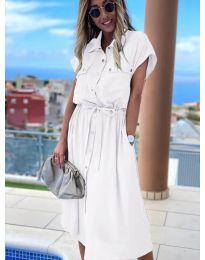 Šaty - kód 0014 - biela