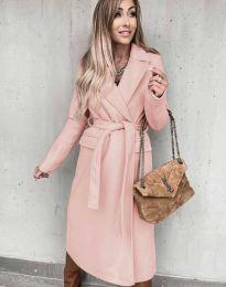 Kabát - kód 0876 - ružová