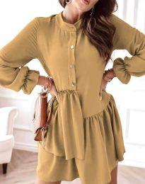 Šaty - kód 2829 - cappuccino