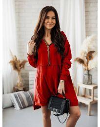 Šaty - kód 6113 - červená