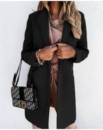 Kabát - kód 7709 - čierná