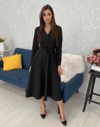Šaty - kód 0576 - čierná