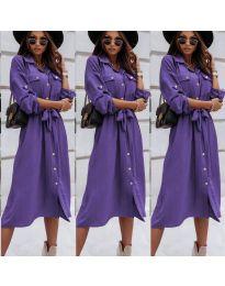 Šaty - kód 1510 - fialová