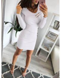 Šaty - kód 3298 - biela