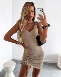 Šaty - kód 2034 - bežová