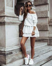 Šaty - kód 12051 - biela