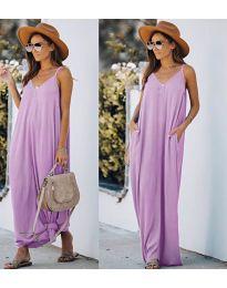 Šaty - kód 0209 - světle fialová