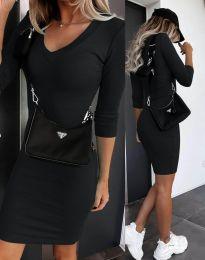 Šaty - kód 7592 - čierná