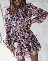 Šaty - kód 6014 - 1 - farebná