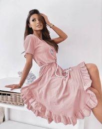 Šaty - kód 11893 - ružová