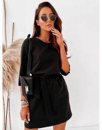 Šaty - kód 778 - čierná
