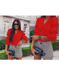 Košeľa - kód 913 - červená