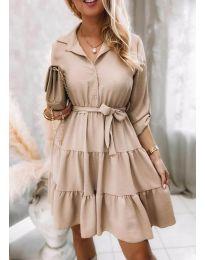 Šaty - kód 6970 - bežová