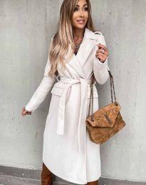 Kabát - kód 0876 - biela