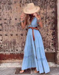 Šaty - kód 0817 - svetlo modrá