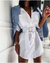 Šaty - kód 976 - biela