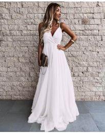 Šaty - kód 5244 - biela