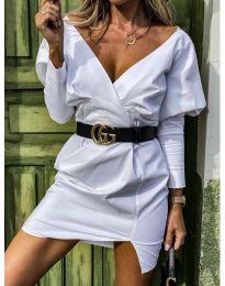 Šaty - kód 1617 - biela