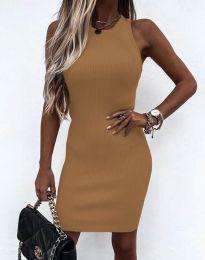 Šaty - kód 6331 - cappuccino
