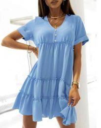 Šaty - kód 7205 - svetlo modrá