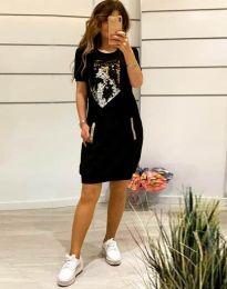 Šaty - kód 7812 - čierná