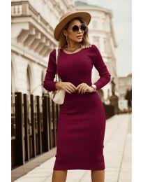Šaty - kód 8485 - bordeaux