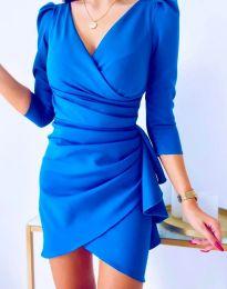 Šaty - kód 32897 - modrá