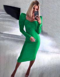 Šaty - kód 3865 - zelená