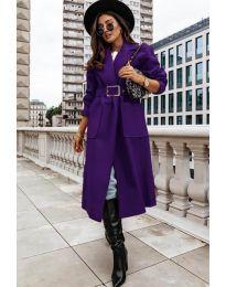Kabát - kód 9888 - tmavě fialová