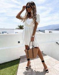 Šaty - kód 6460 - biela