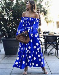 Šaty - kód 9951 - modrá