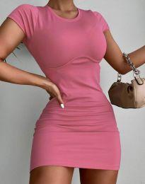 Šaty - kód 12833 - ružová
