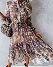 Šaty - kód 9660 - 1 - farebná