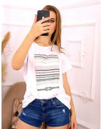 Tričko - kód 3514 - biela