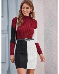 Šaty - kód 9935 - 3 - viacfarebné
