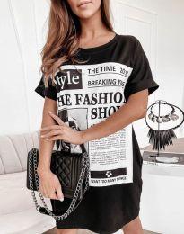 Šaty - kód 7775 - čierná
