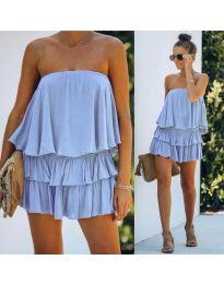 Šaty - kód 0489 - modrý
