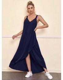 Šaty - kód 3083 - tmavomodrá