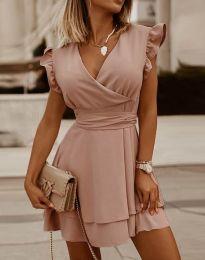 Šaty - kód 5654 - ružová