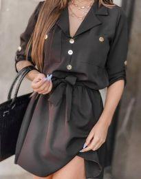 Šaty - kód 4950 - čierná