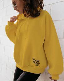 Blúza - kód 4229 - žltá