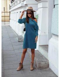 Šaty - kód 8171 - tyrkysová