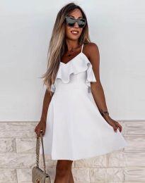 Šaty - kód 2739 - biela