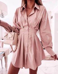 Šaty - kód 8141 - pudrová