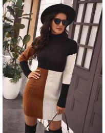 Šaty - kód 9935 - 2 - viacfarebné