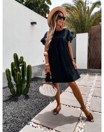 Šaty - kód 744 - čierná