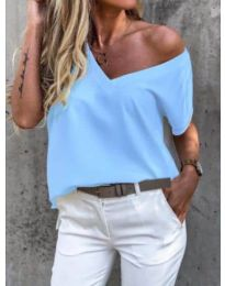 Tričko - kód 0589 - modrý
